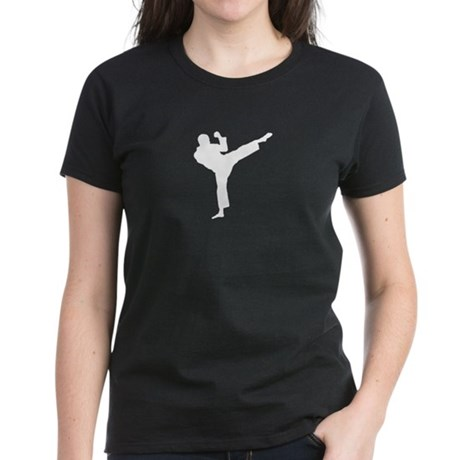 Roundhouse Kick Women's Dark T-Shirt