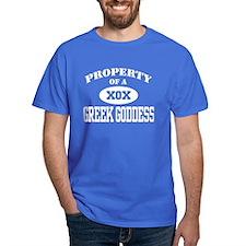 Property of a Greek Goddess T-Shirt