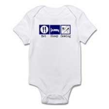 Eat, Sleeping, Sewing Infant Bodysuit
