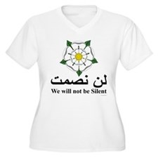 """We will not be silent"" T-Shirt"