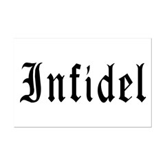 Infidel Mini Poster Print