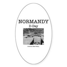Normandy Americasbesthistory.com Decal