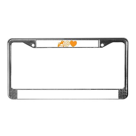 Jumper at Heart License Plate Frame