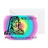 Purim Greeting Card -- WWQED Rainbow