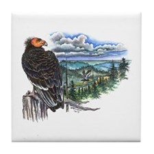 California Condor Tile Coaster