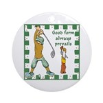 Good Form Keepsake (Round)