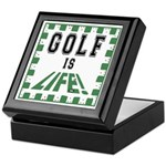 Golf Is Life Keepsake Box
