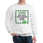 Golfer's Prayer Sweatshirt
