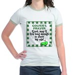 Golfer's Prayer Jr. Ringer T-Shirt
