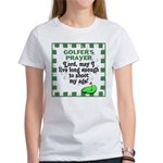 Golfer's Prayer Women's T-Shirt