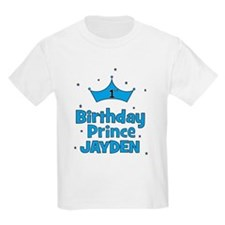 1st Birthday Prince - Jayden T-Shirt