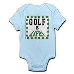 Golf Is Life Infant Creeper