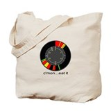 Cute Ice fisherman Tote Bag