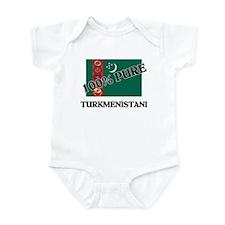 100 Percent TURKMENISTANI Infant Bodysuit