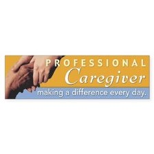 'Professional Caregiver' Bumper Bumper Sticker