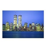 New York City at Night Postcards (Package of 8)