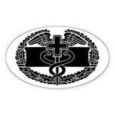 Combat Medic (1) Oval Decal
