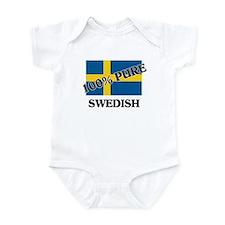 100 Percent SWEDISH Infant Bodysuit