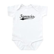 Vintage Ignacio (Black) Infant Bodysuit