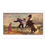Cowboy Serenade Postcards (Package of 8)