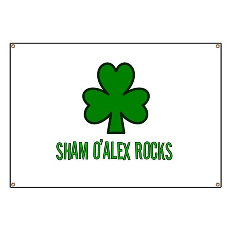 O' alex rocks Banner