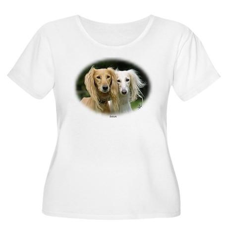 Saluki Women's Plus Size Scoop Neck T-Shirt