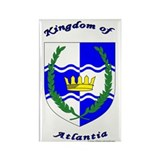 Kingdom of Atlantia Rectangle Magnet (100 pack)