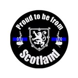 "Proud to be from Scotland 3.5"" Button (100 pa"
