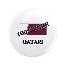 "100 Percent QATARI 3.5"" Button"