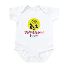 Swedish Waffle Day Infant Bodysuit