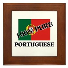 100 Percent PORTUGUESE Framed Tile