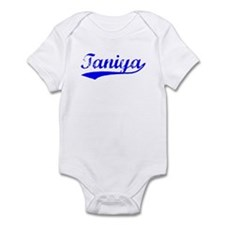 Vintage Taniya (Blue) Infant Bodysuit