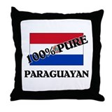 100 Percent PARAGUAYAN Throw Pillow
