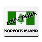 100 Percent NORFOLK ISLAND Mousepad