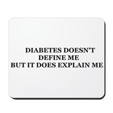 DIABETES MOUSEPAD
