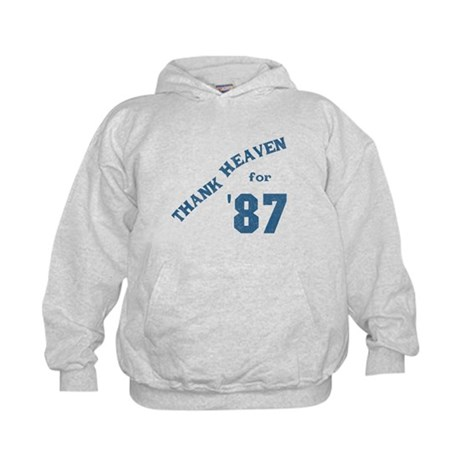 Thank Heaven for '87 Kids Hoodie