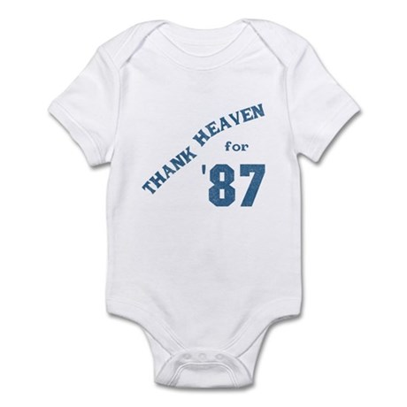 Thank Heaven for '87 Infant Bodysuit