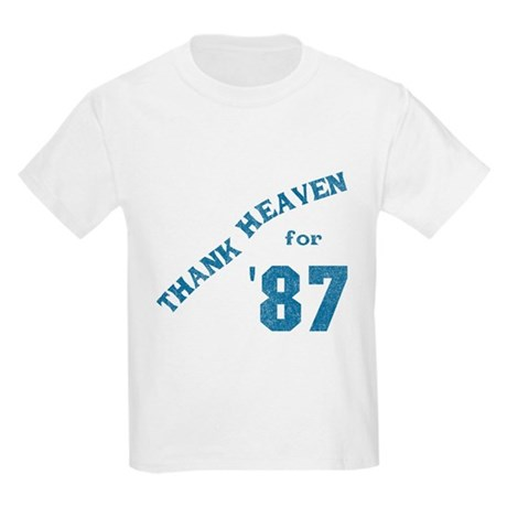 Thank Heaven for '87 Kids Light T-Shirt
