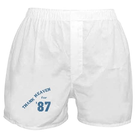 Thank Heaven for '87 Boxer Shorts