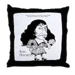 Descartes Throw Pillow