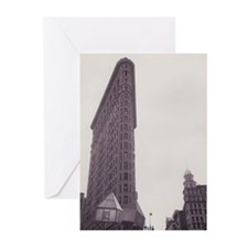 Flatiron Building Greeting Cards (Pk of 10)