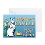 Masonic Bunny Greeting Card