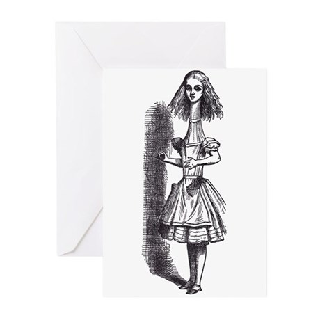 Tall Alice Greeting Cards (Pk of 10)