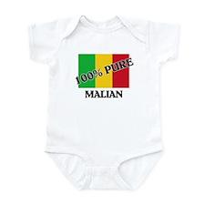 100 Percent MALIAN Infant Bodysuit