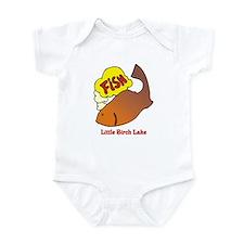 240 Fish Thinking Infant Bodysuit