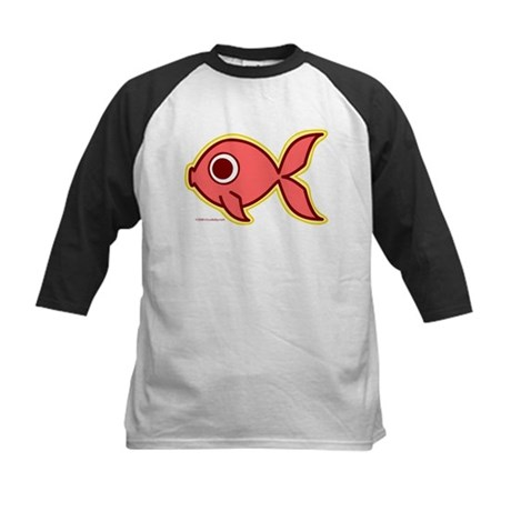 Fishy Fishy Kids Baseball Jersey