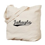 Vintage Jakayla (Black) Tote Bag