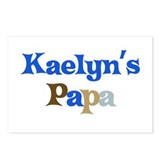 Kaelyn's Papa Postcards (Package of 8)
