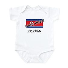 100 Percent KOREAN Infant Bodysuit