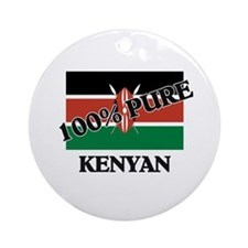100 Percent KENYAN Ornament (Round)